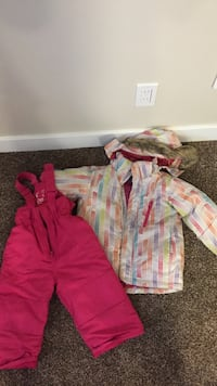 snow pants and jacket youth size 4 Calgary, T1Y 5T7
