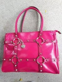 XOXO HOT PINK Leather Purse   Coquitlam, V3B 0B9