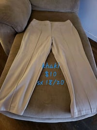white and blue floral pants San Angelo, 76901