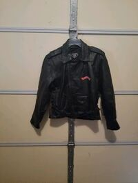 Leather coat with patches Somerset, 42503