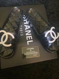 WOMANS  CHANEL SLIDES Germantown, 20876