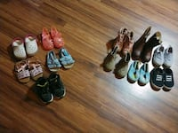 11 Pairs Toddler Shoes and Boots Size 5 & 6 Girls Gaithersburg