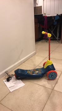 Paw Patrol electric scooter.  26 mi