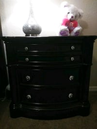 black wooden 3-drawer chest Tampa, 33610
