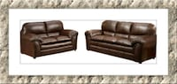 Burgundy leather sofa and love seat brand new Laurel, 20707