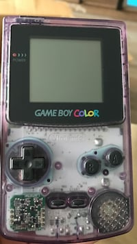 Clear Purple Gameboy Color Sintra, 2710-696