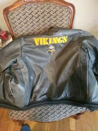 XL kids Vickings leather coat