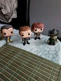 Assorted Funko pop figures