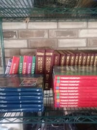 assorted book collections
