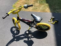 black and yellow BMX bike Ashburn, 20148