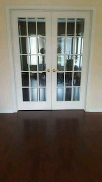 Bevelled glass French doors $200 Mississauga, L5W