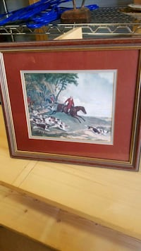 English Fox Hunt Print 10-1/2 X 12-1/2  Shreveport, 71104
