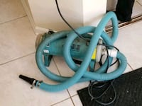 blue and black canister vacuum cleaner Glen Ellyn