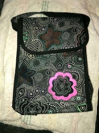 black and white floral bag  Cleveland