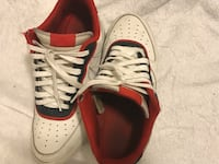 Air Force 1's (Red N' Navy Blue) Des Moines, 50320