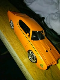 yellow and black coupe die-cast model Durham