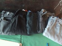 5 pair of boys jeans size 12