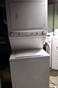 Laundry combo washer and dryer
