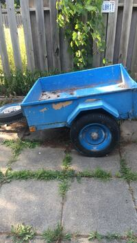 blue and white utility trailer Quinte West