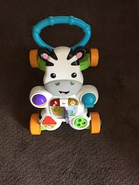 Fisher-price learn with me zebra walker Virginia Beach, 23452