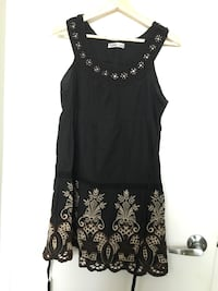 Black and white floral sleeveless dress Toronto, M5B