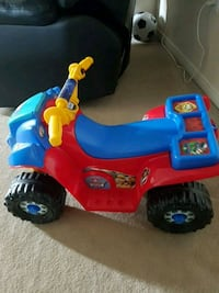 toddler's red and blue ride-on toy Mississauga, L5L 5P9