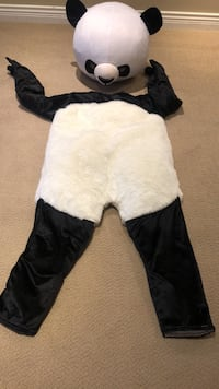 """Panda mascot costume. Never worn. Fits 5'3"""" to 5'6"""" person Surrey, V3Z 0H7"""