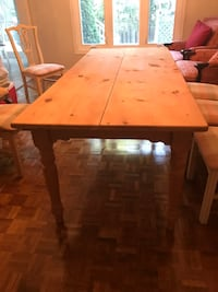 Unfinished pine dining table Richmond Hill, L4C 9J1