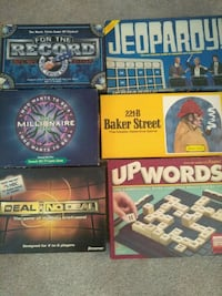 Board Games #1 $3.00 each Middle River, 21220