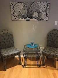 Everything chairs table and wall art Milton, L9T 0S9