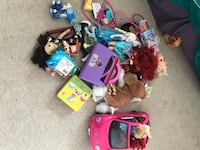 Toddler's assorted toys and girls clothes 4-7 years old  London, N6H 0C7