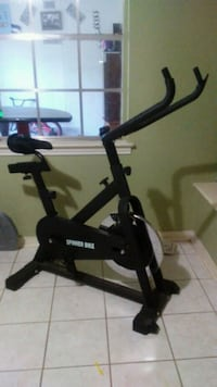 black and gray stationary bike Irving, 75062