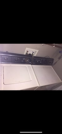 Black and white washer and dryer set Clarksville, 37043