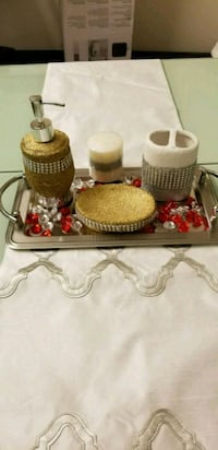 Bath room accessories set 3 pcs