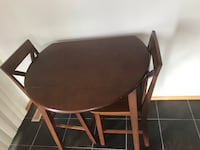 Round Wood Kitchen table Edmonton, T5E 5T3