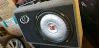 black and gray Kicker subwoofer Ontario, 91761
