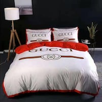 Luxury Kingsize Bedset Bed cover Bedsheet Pillowcase Cozy
