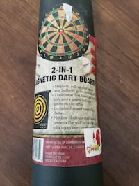 Magnetic Roll Up Dart Board