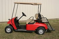 EZ GO Golf Cart 2012 Red 48 Volt Krugerville, 76227