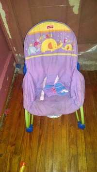 baby's pink and blue bouncer Batesburg-Leesville, 29006