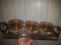 Brand new serving dishes with tray  Surrey, V3S 4R4