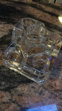 Lead Crystal 5tier votive glass Gorgeous decor by Party Lite made ex.in Germany Islip, 11705