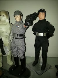 Star Wars 1/6 imperial Officers 2x