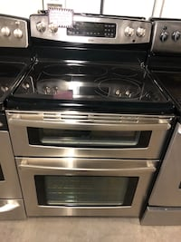 KENMORE double oven electric stove stainless steel  Laurel, 20707