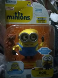 yellow and blue Minions plastic toy Hamilton, L8H