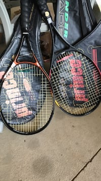 Racquets $15 each both for 25