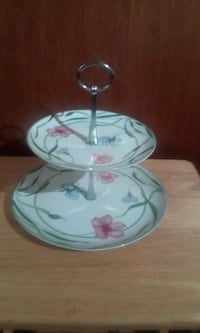 Vintage Two Tier Dessert/Petit Four Stand