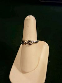 Sterling Silver Infinity Ring  Washington, 61571