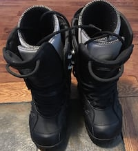 pair of black-and-gray boots