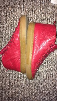 Red balenciagas worn but ok condition Englewood, 07631